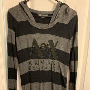 Women's Armani Exchange hooded Sweater